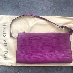 Louis Vuitton epi pouchette